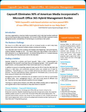 AMI Cayosoft Case Study - 2019